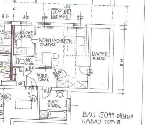 Immobilie von Wohnbau Bergland in Dorf 32 Dienten Top 11 #1