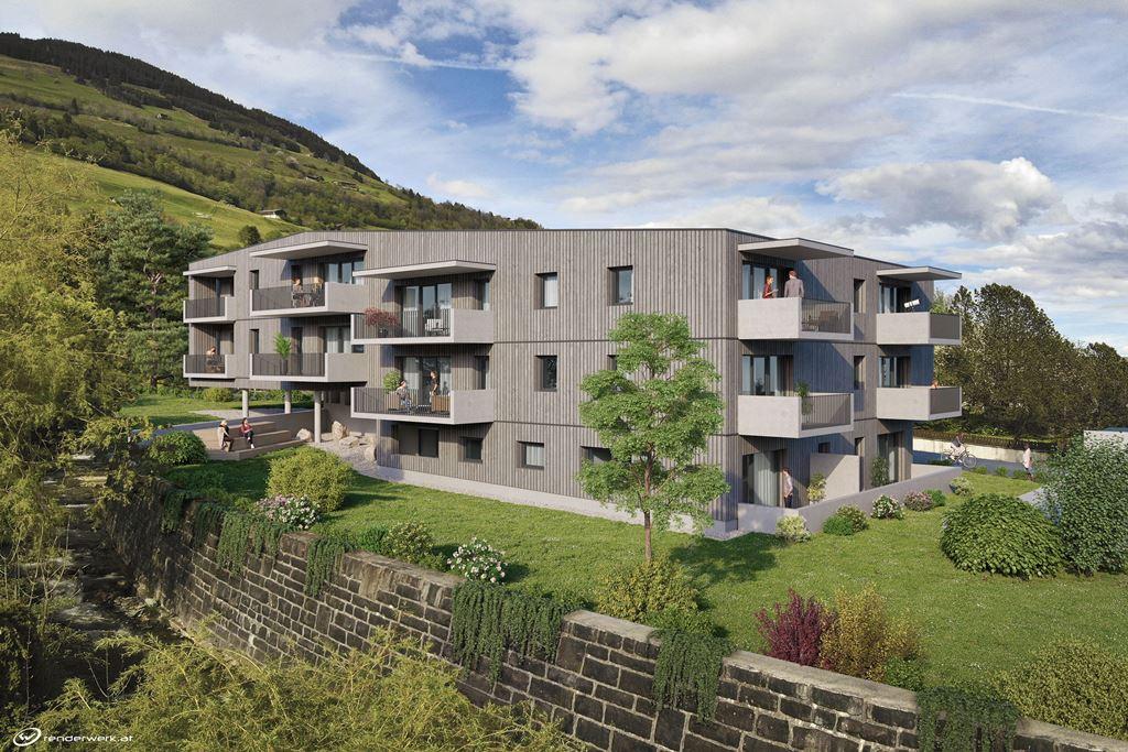 Immobilie von Wohnbau Bergland in Burkerstraße Mittersill Top 13 2. OG #0