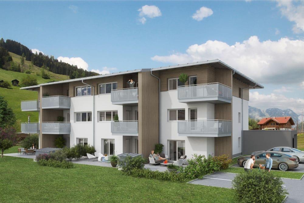 Immobilie von Wohnbau Bergland in Unterdorfstrasse 17 Dorfgastein Top 4 #0