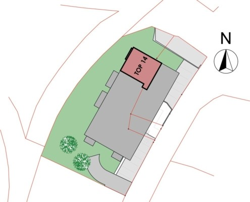 Immobilie von Wohnbau Bergland in Burkerstraße Mittersill Top 14 2. OG #1