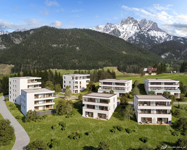 Immobilie von Wohnbau Bergland in Sonnblick am Gründbichl (13 Eigentumswohnungen) Saalfelden – Bauetappe 3 Top B4 – Haus 6831 #0