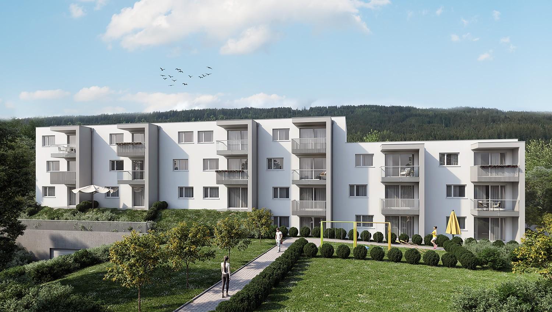 Immobilie von Wohnbau Bergland in Zentral und doch im Grünen Radstadt Top 11 #0