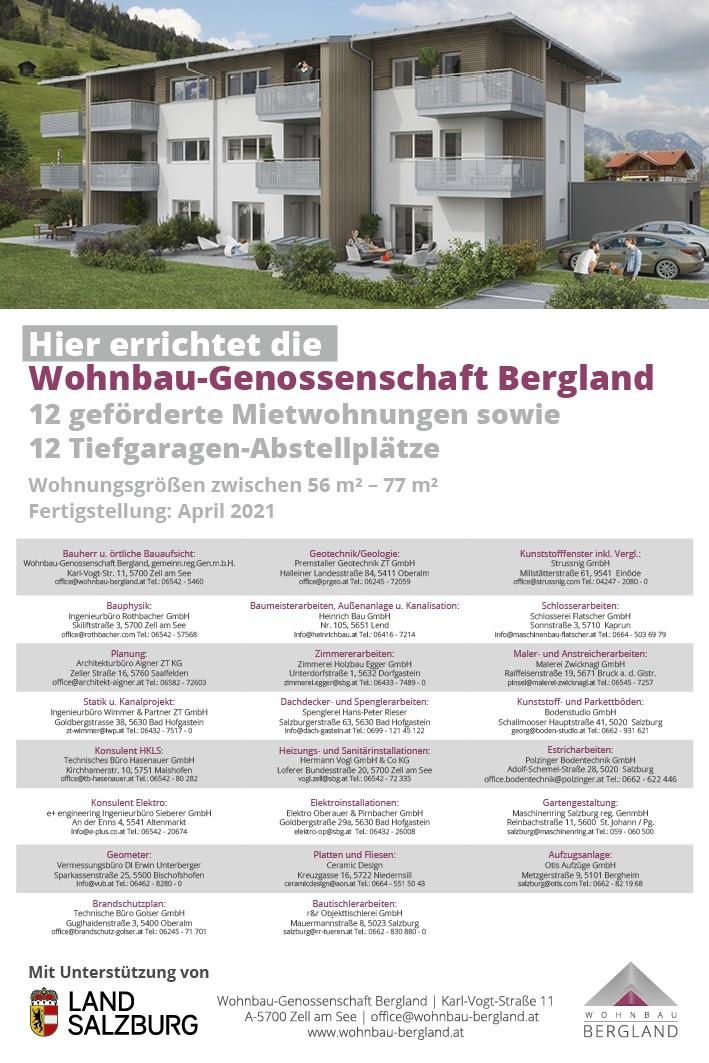 Immobilie von Wohnbau Bergland in Dorfgastein #1