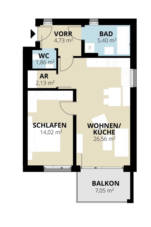 Immobilie von Wohnbau Bergland in Zentral und doch im Grünen Radstadt Top 10 #1
