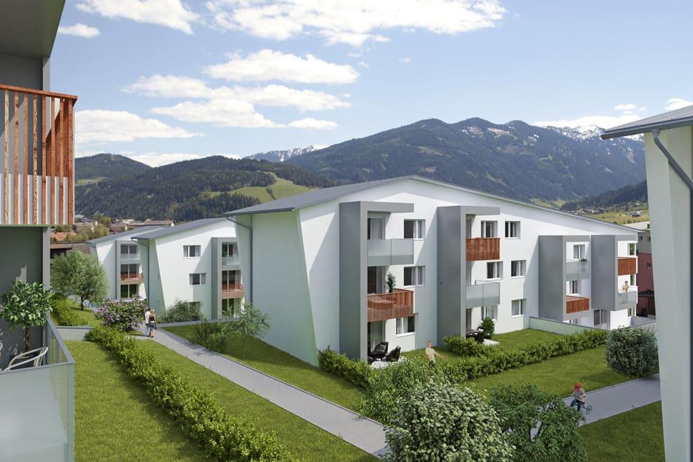 Immobilie von Wohnbau Bergland in Radstadt